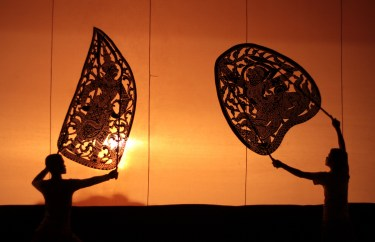 Cambodia-shadow-puppetry